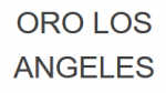 ORO Los Angeles