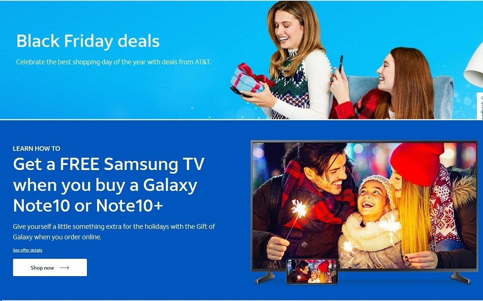 AT&T Mobility Black Friday Ads