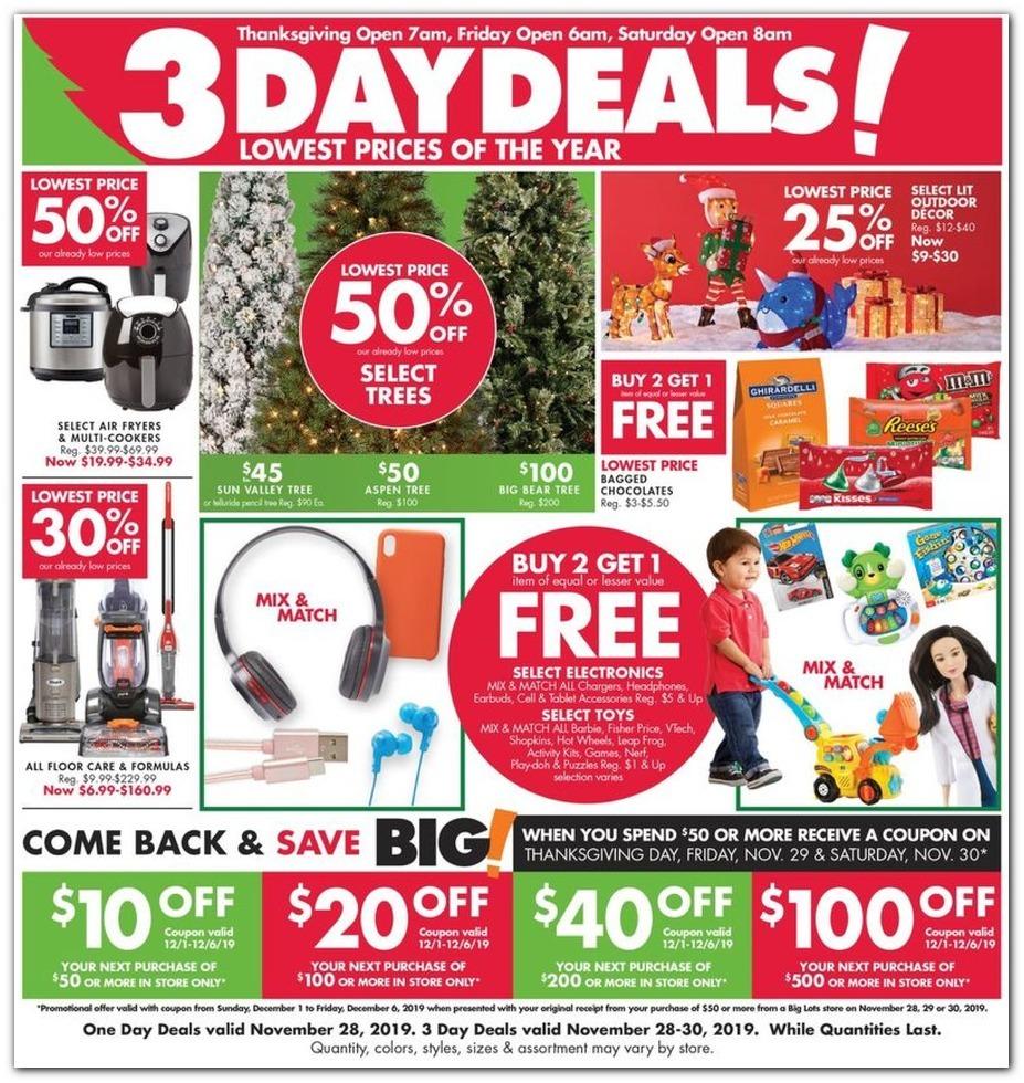 Big Lots Black Friday Ads
