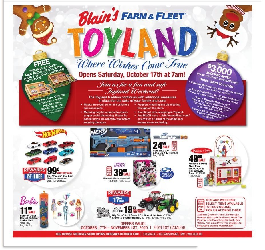 Blain's Farm & Fleet Black Friday Ads