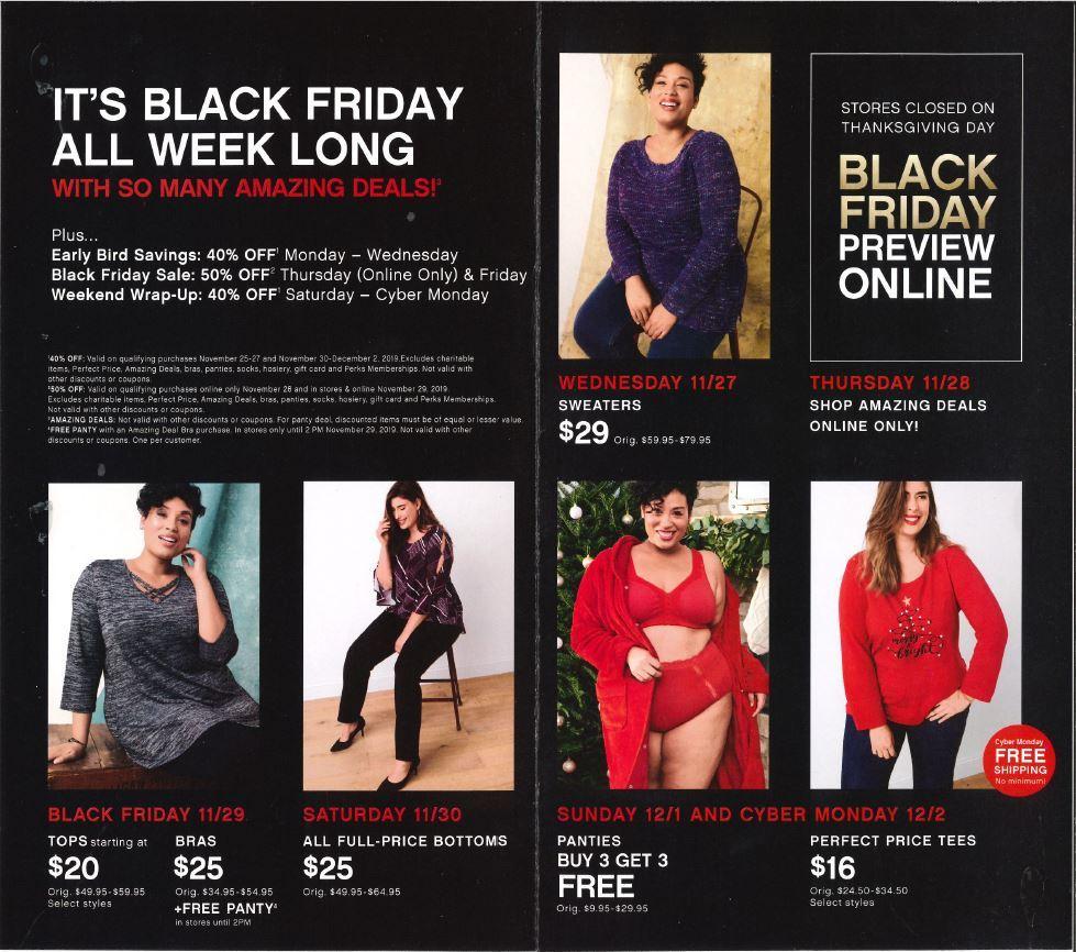 Catherines Black Friday Ads