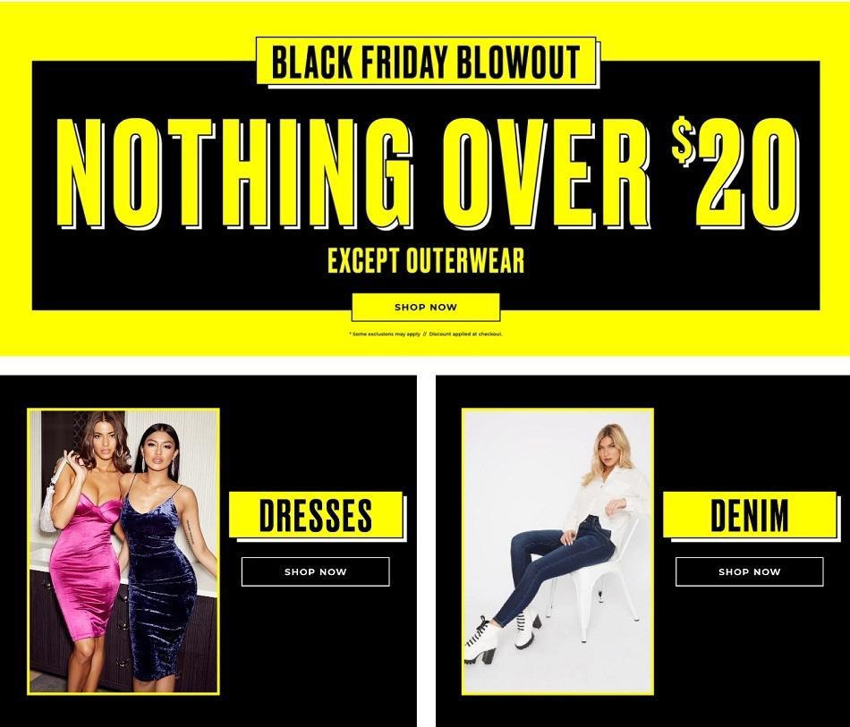 Charlotte Russe Black Friday Ads