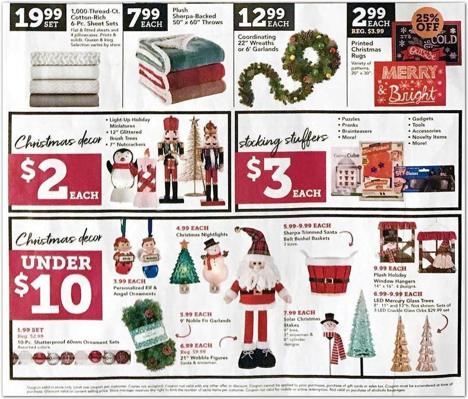 Christmas Tree Shops Black Friday Ads