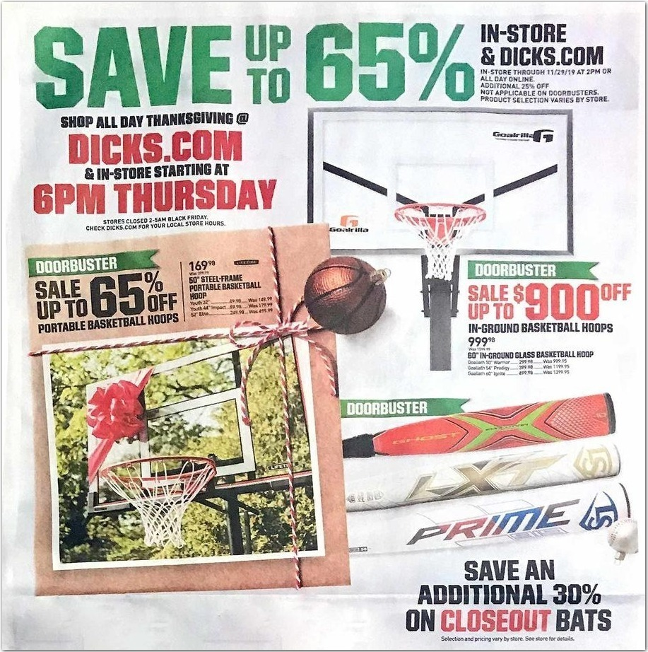 Dick's Sporting Goods Black Friday Ads