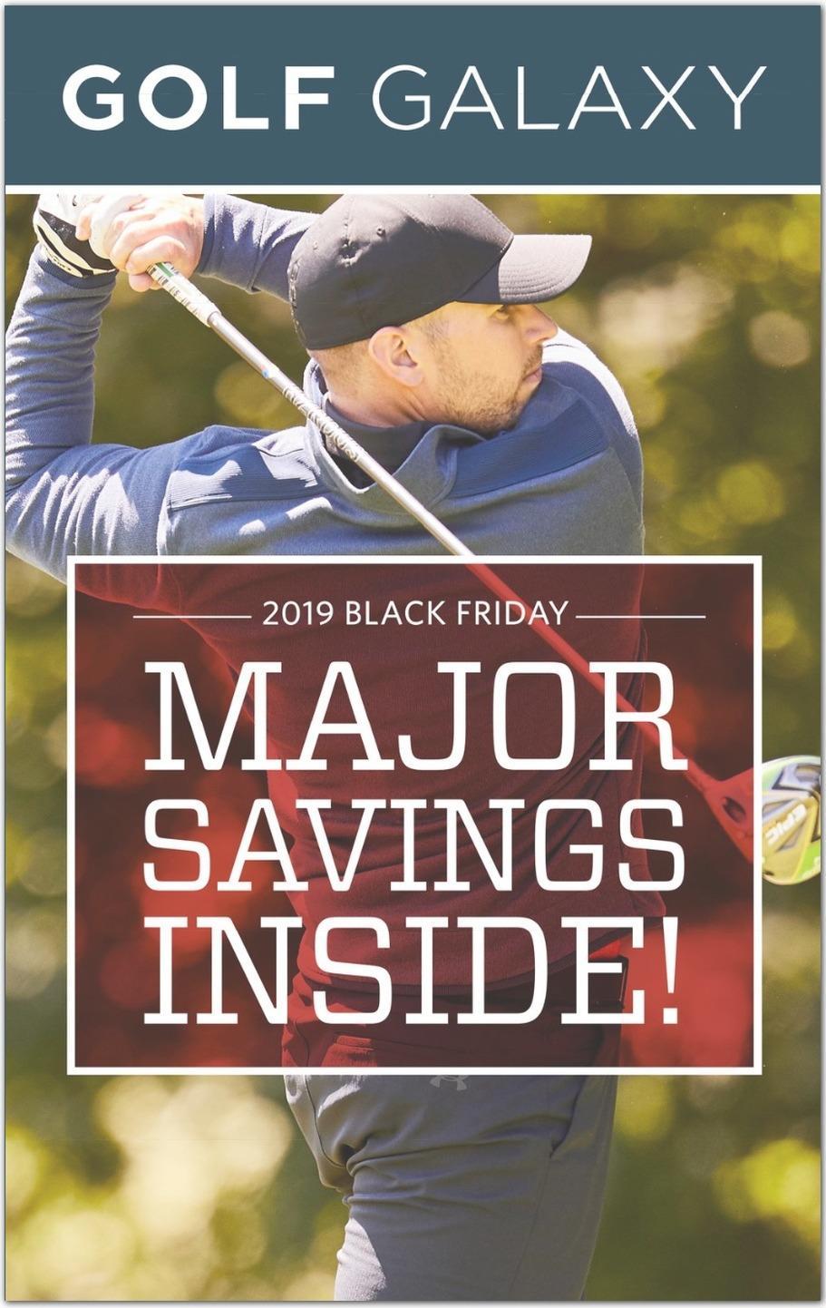 Golf Galaxy Black Friday Ads