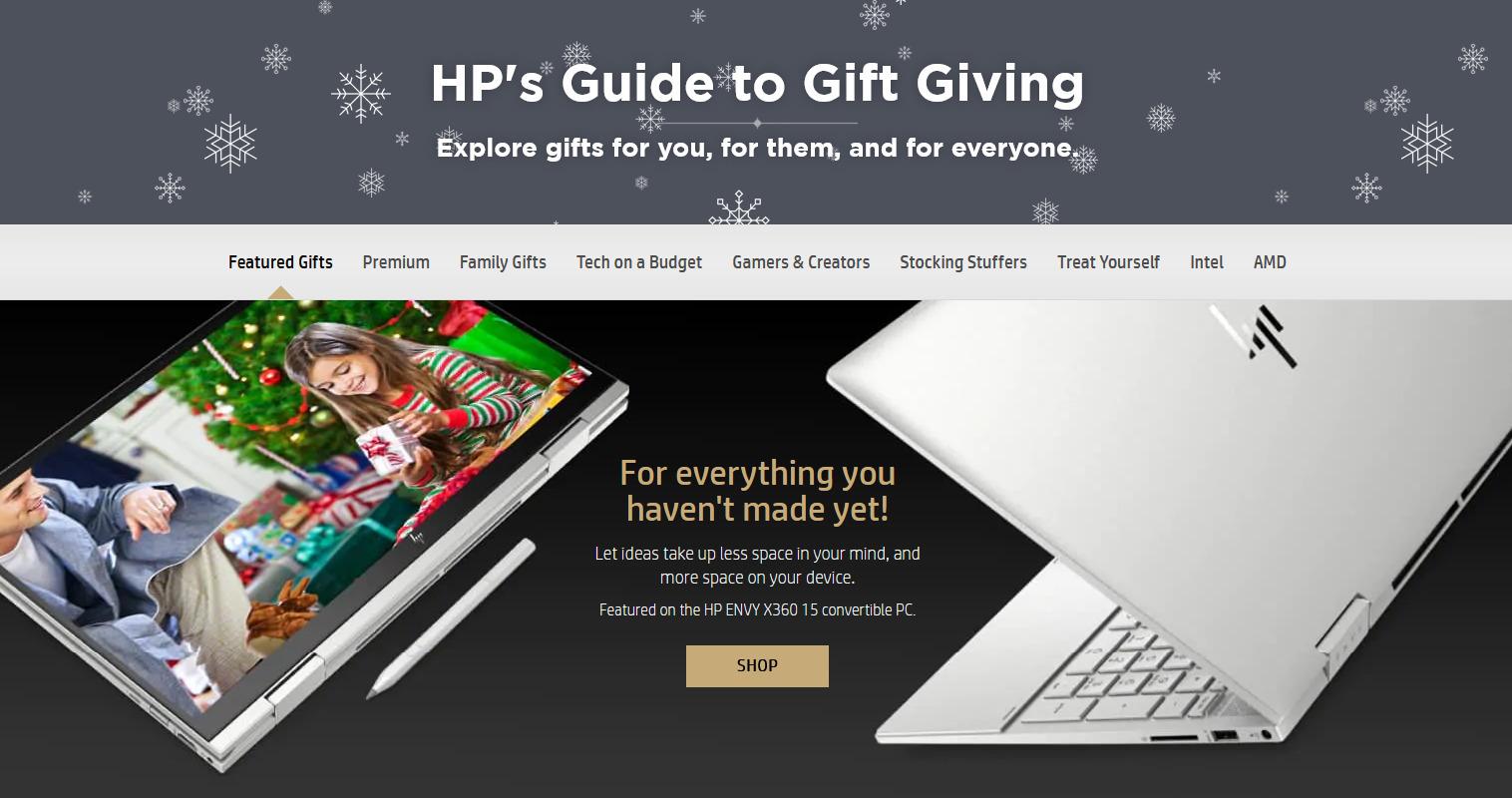 HP Black Friday Ads