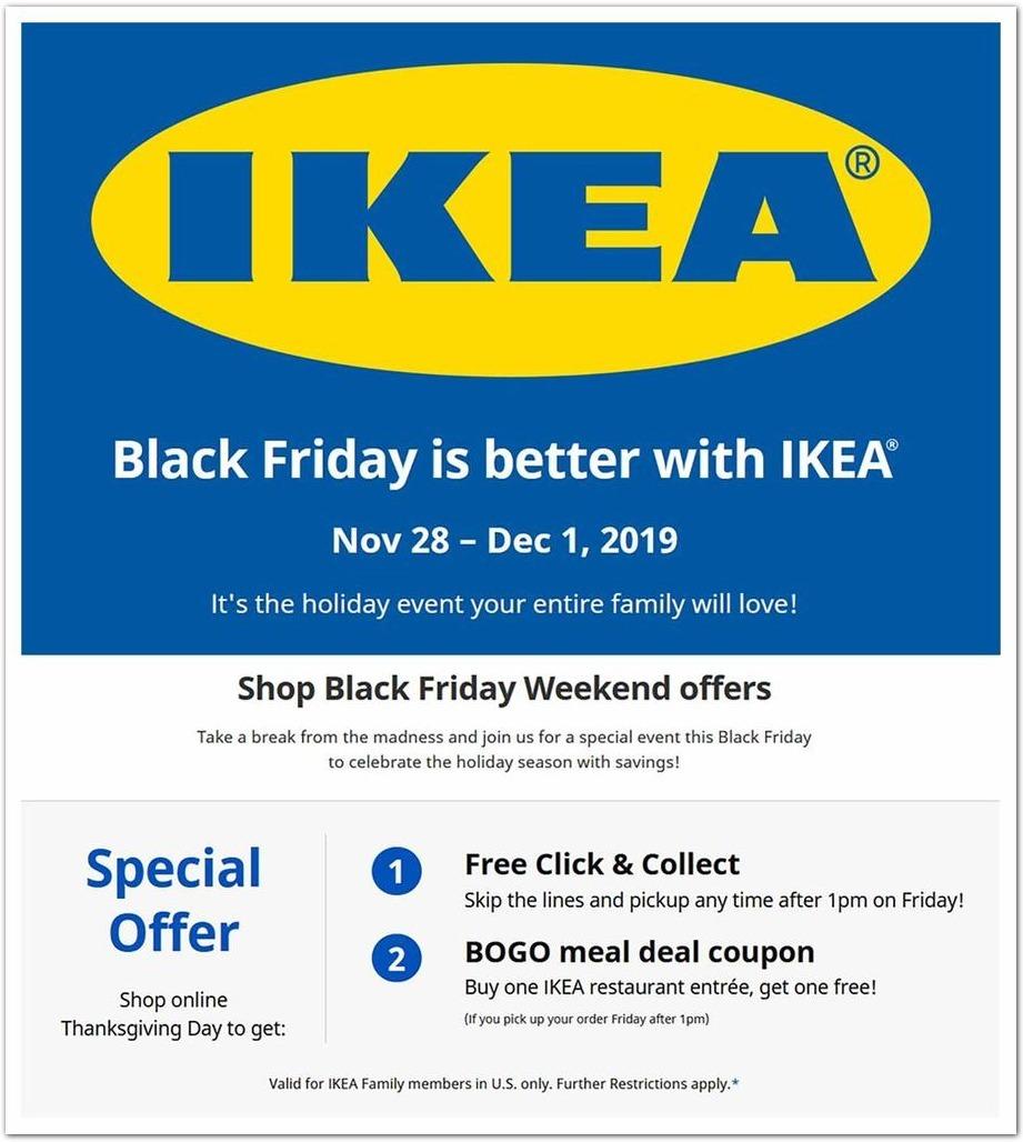 IKEA Black Friday Ads