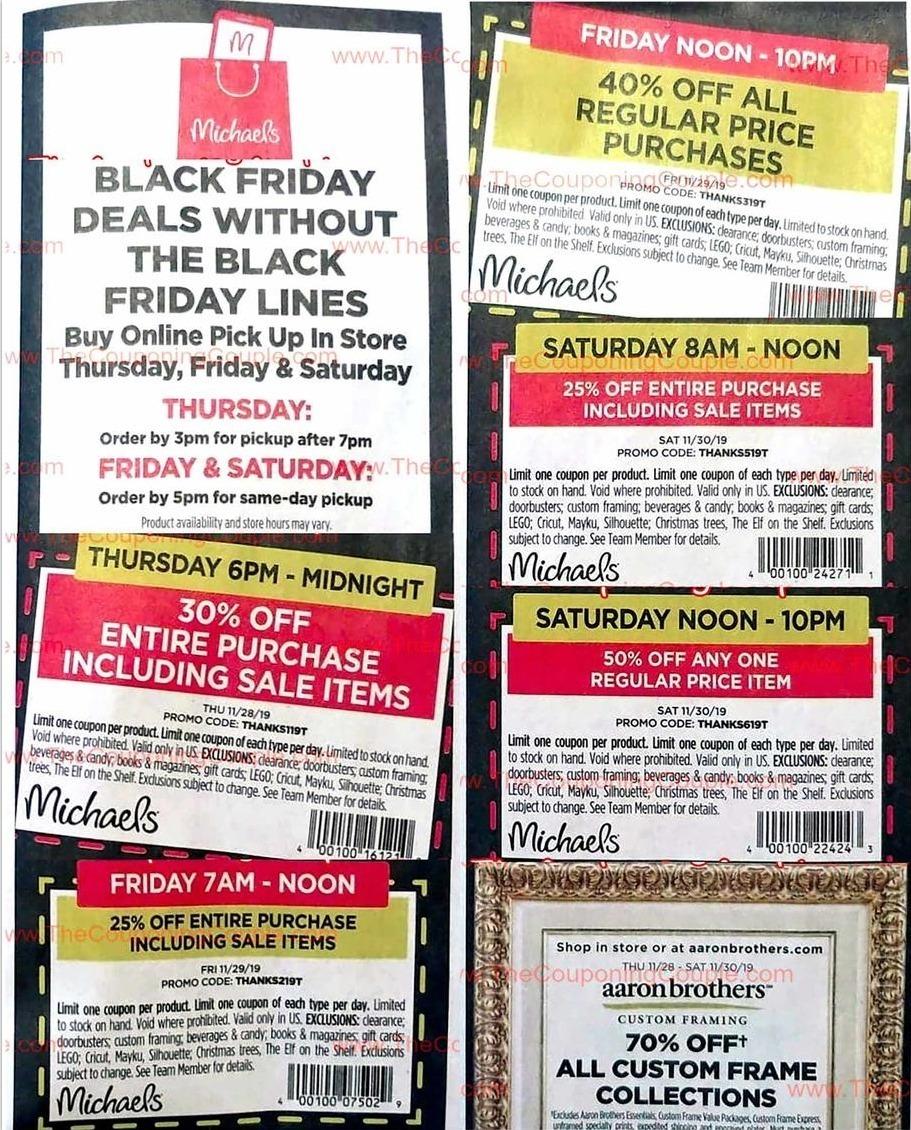 Michaels Black Friday Ads