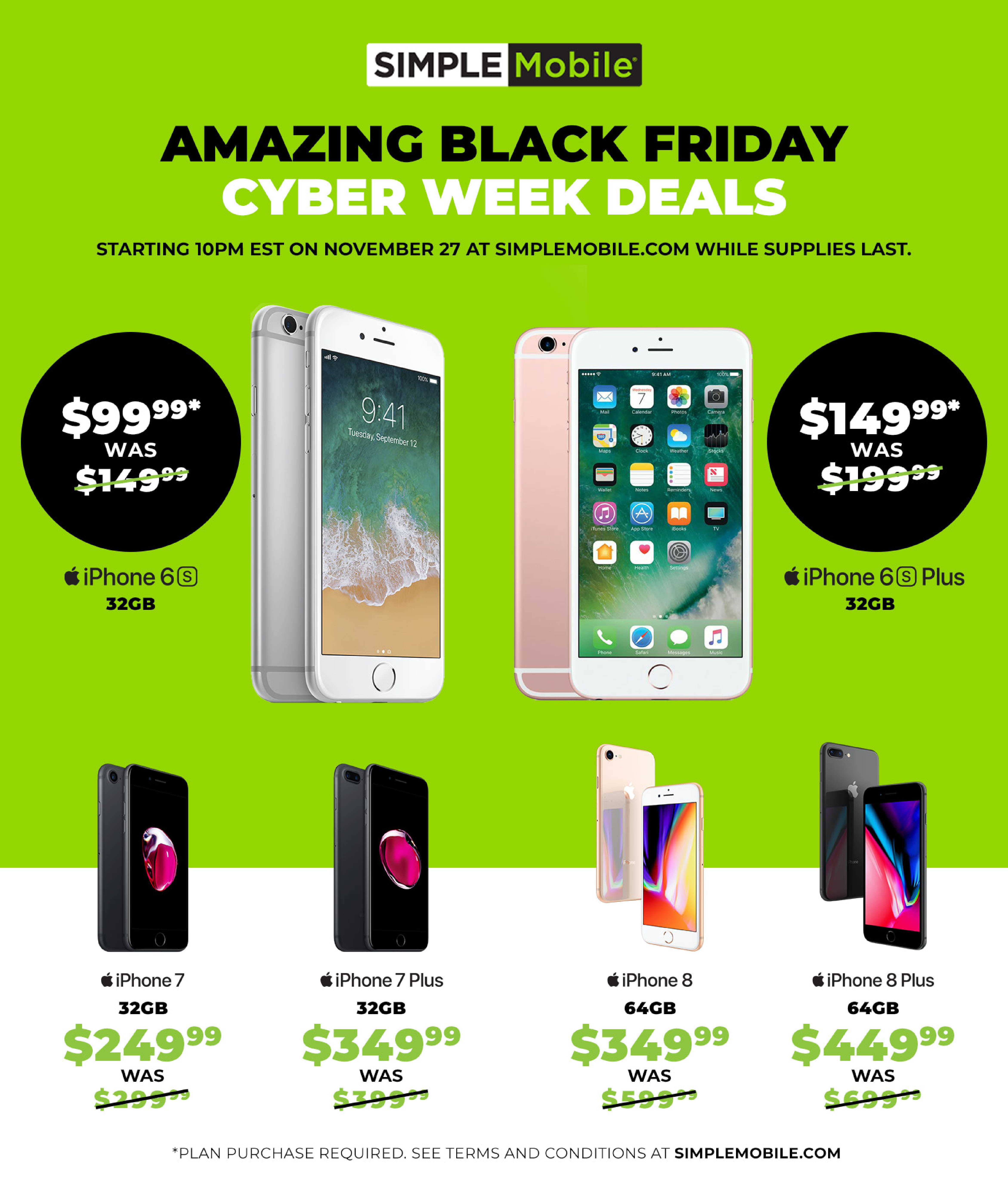 SIMPLE Mobile Black Friday Ads