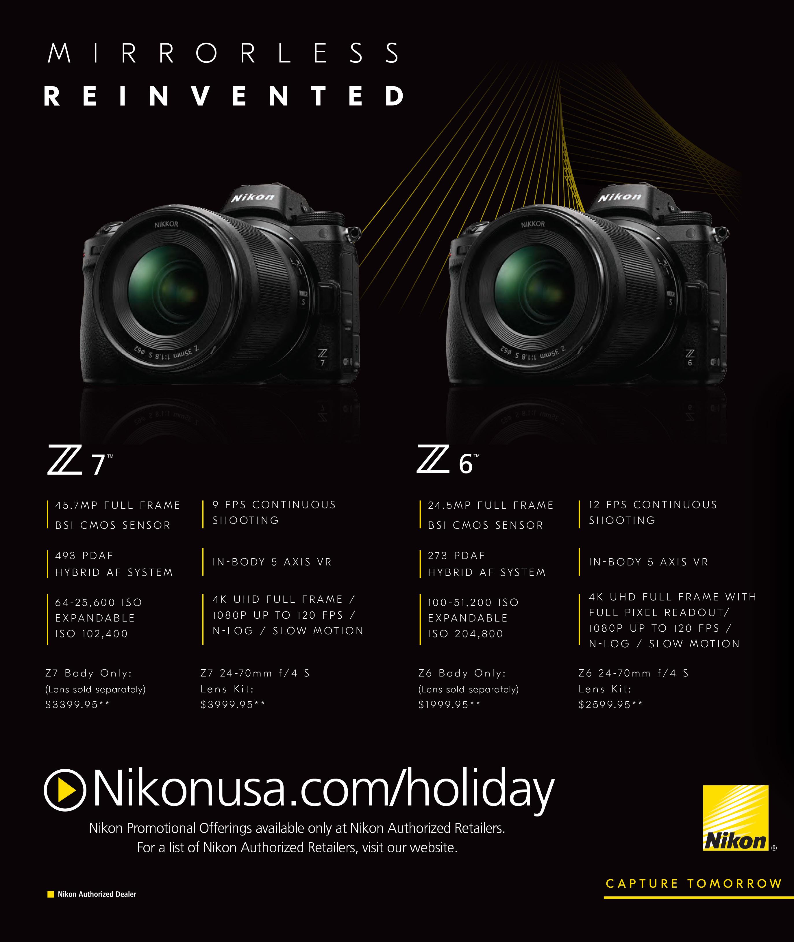 Nikon Black Friday Ads