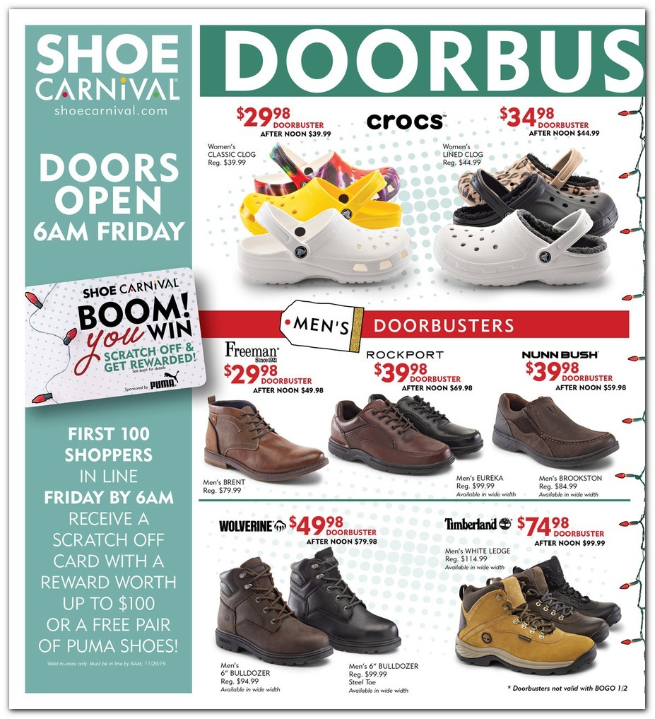 Shoe Carnival Black Friday Ads