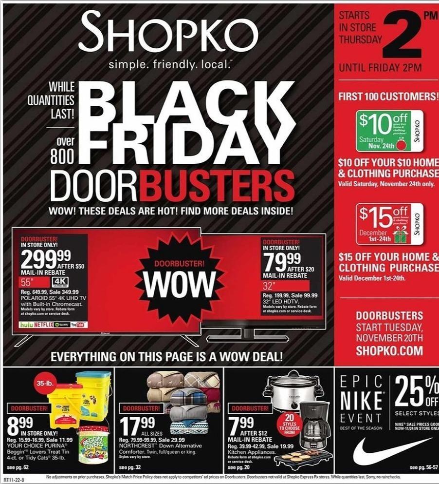 Shopko Black Friday Ads