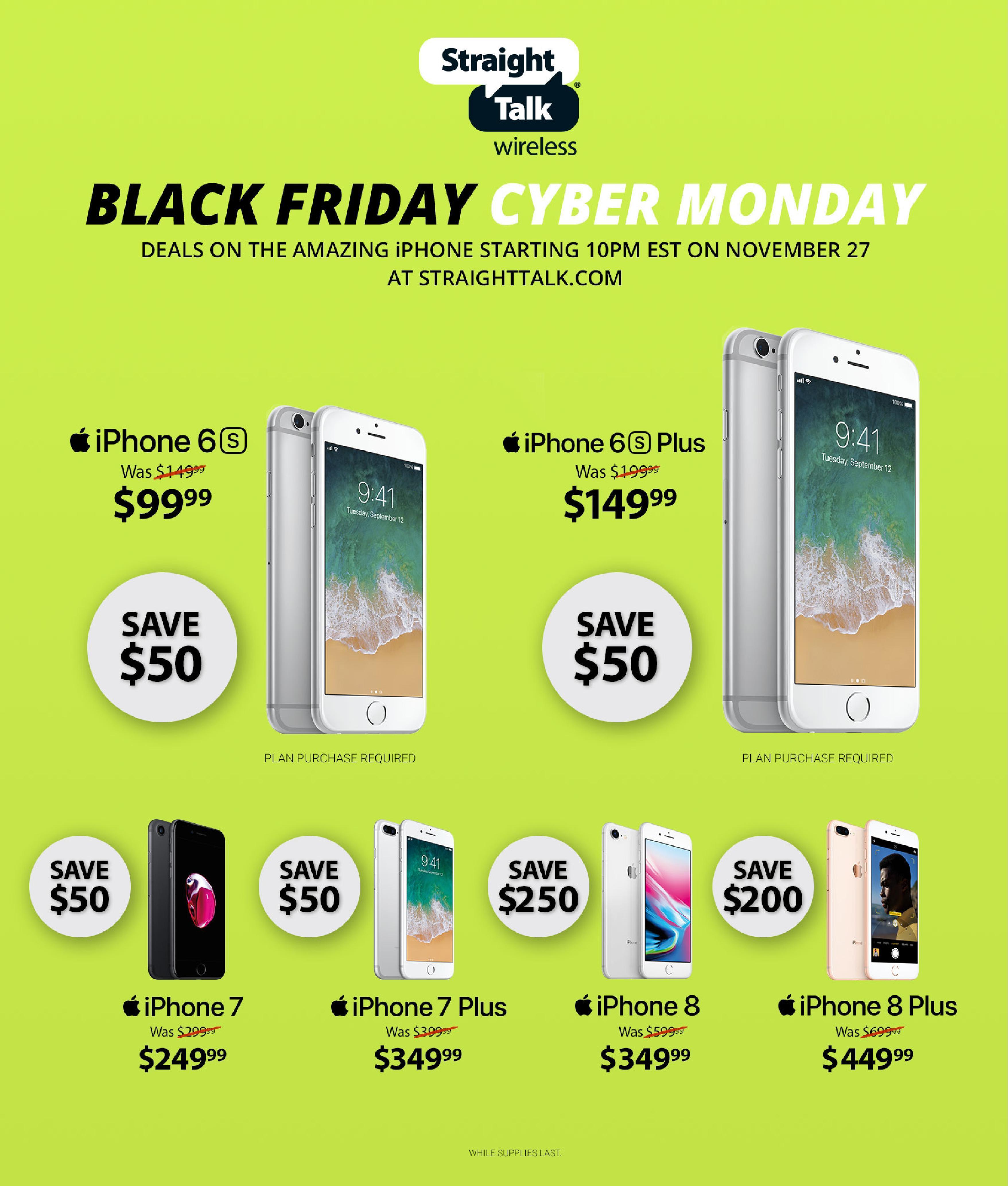 Straight Talk Black Friday Ads
