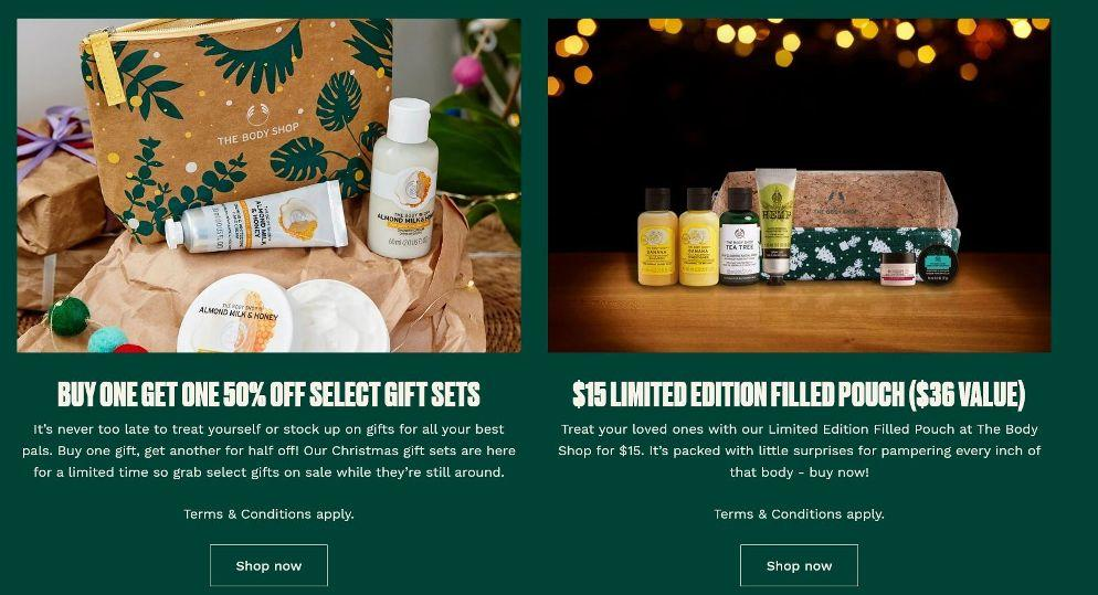The Body Shop US Black Friday Ads