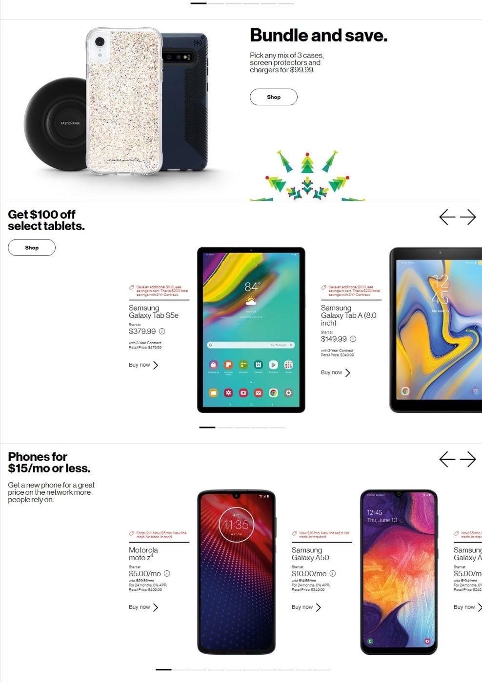 Verizon FiOS Black Friday Ads