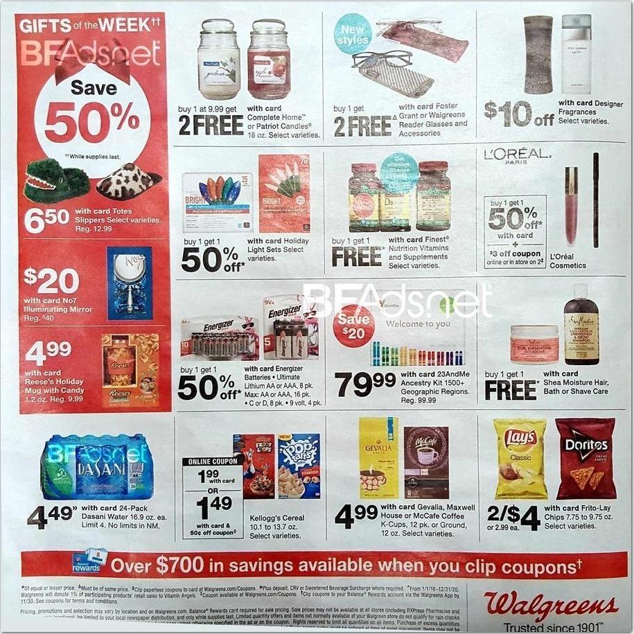 Walgreens Black Friday Ads