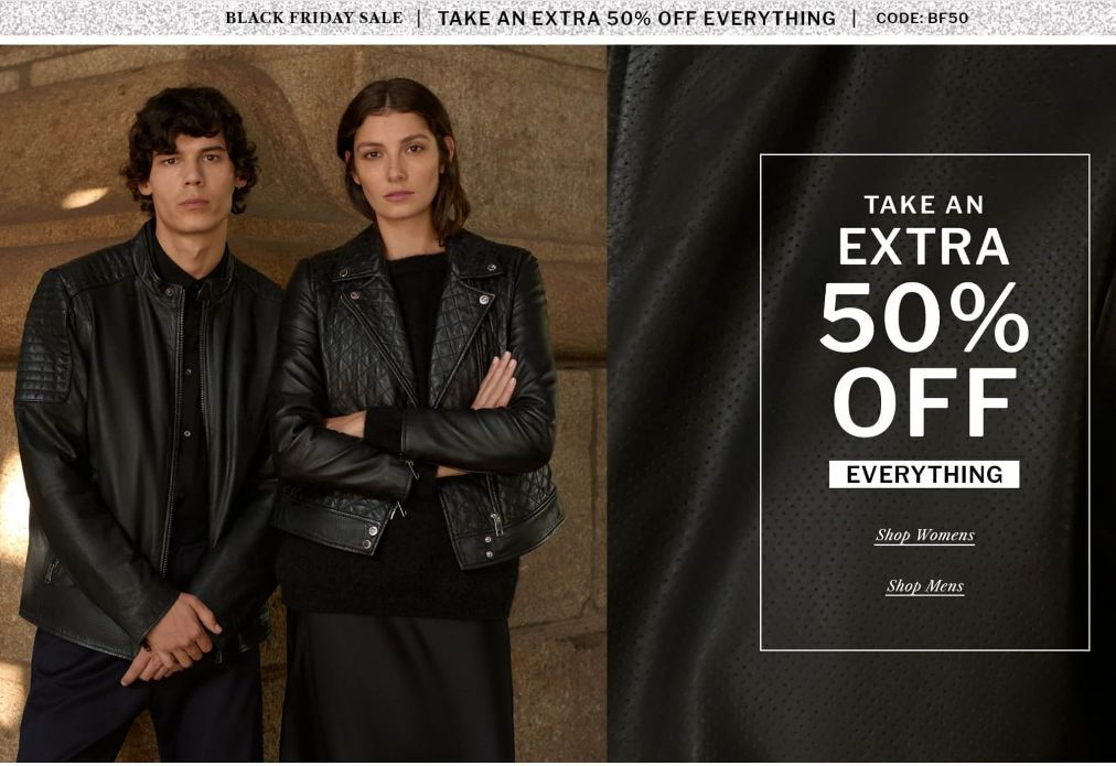 Wilsons Leather Black Friday Ads